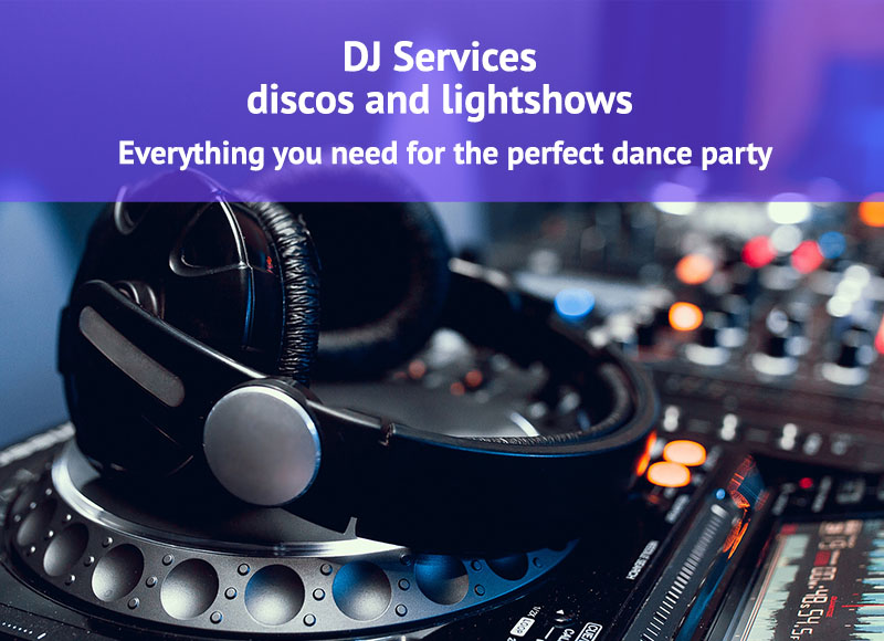 DJ Services Disco and Lightshow